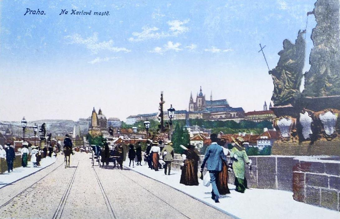Praha Na Karlově mostě