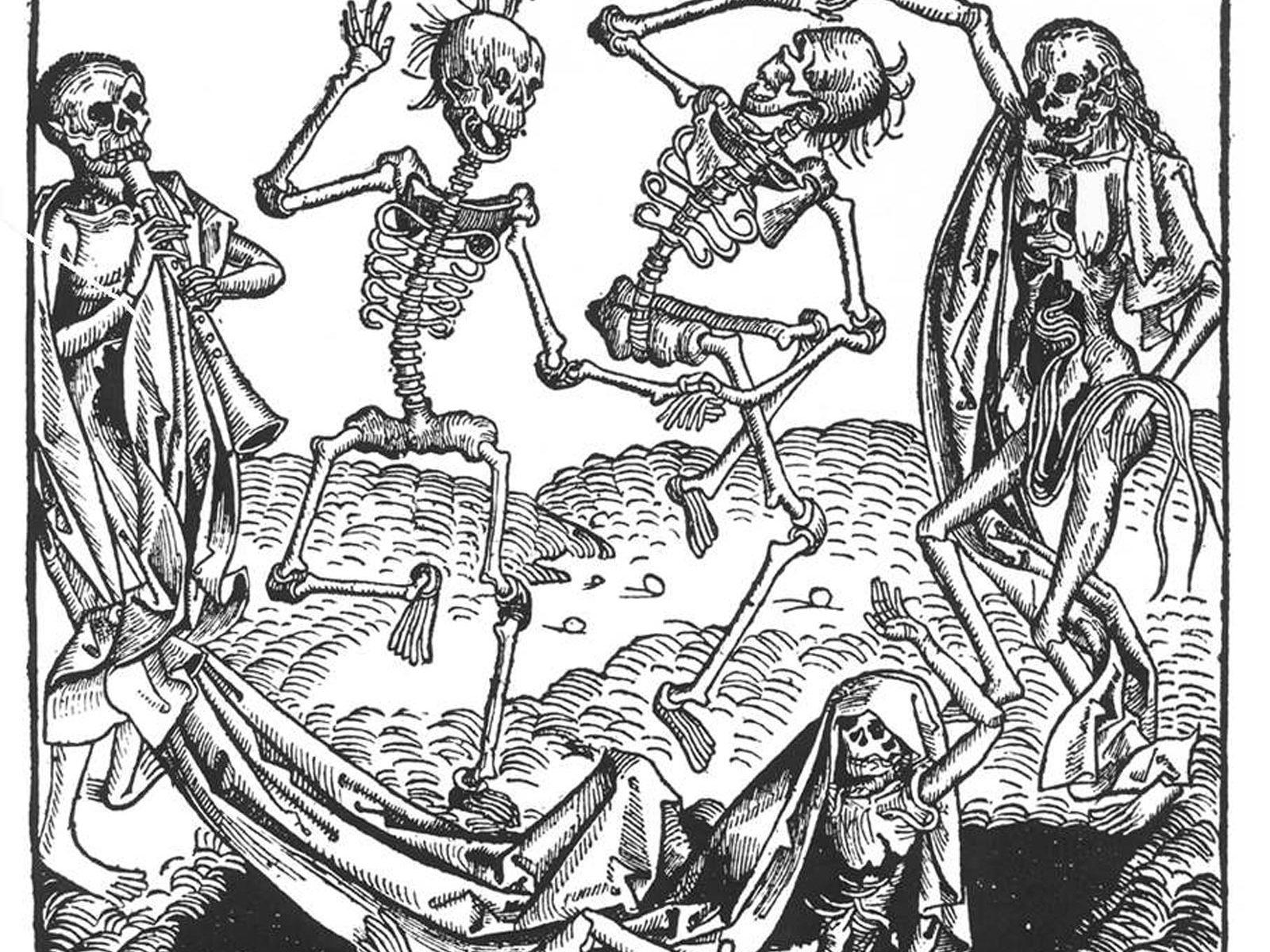 Michael Wolgemut: Tanec smrti